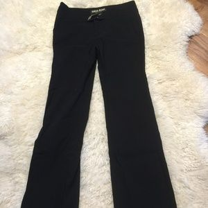 Guess black flare jeans